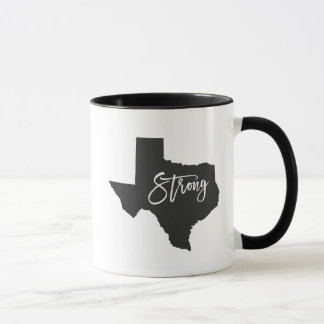 Texas Strong Harvey Relief Coffee Mug