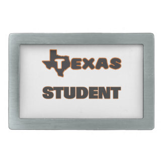 Texas Student Rectangular Belt Buckles