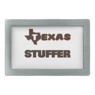 Texas Stuffer Rectangular Belt Buckle