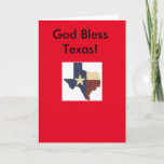 Texas style greeting Card