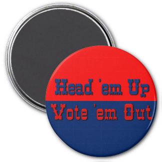 Texas style politics 2 magnet