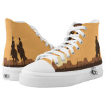 Texas Sun Set High-Top Sneakers