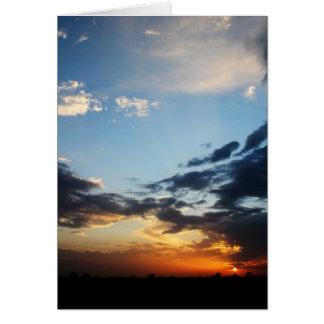 Texas Sunset #1 Card
