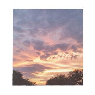 Texas Sunset Notepad