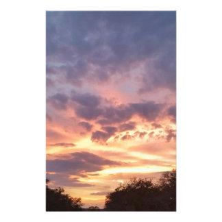 Texas Sunset Stationery