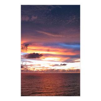 Texas sunset-wow lake kickapoo stationery