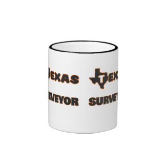 Texas Surveyor Ringer Mug