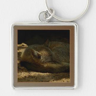 Texas Swift Fox Premium Square Keychain