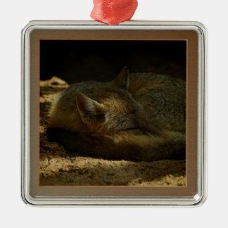 Texas Swift Fox Premium Square Ornament