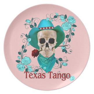 Texas Tango Melamine Plate