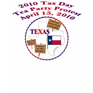 Texas Tax Day Tea Party Long Sleeve Hoody shirt