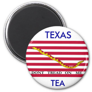 TEXAS TEA, Dont Tread On Me 2 Inch Round Magnet