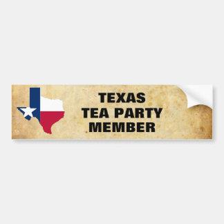 TEXAS TEA PARTY BUMPER STICKER