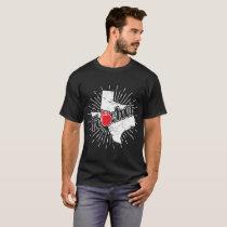 Texas Teacher Gift - TX Teaching Home State Pride T-Shirt