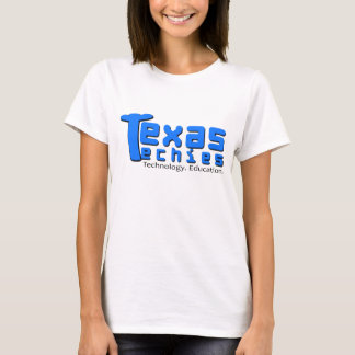 Texas Techies Blue Logo T-Shirt