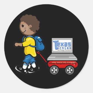 Texas Techies On Wheels Stickers