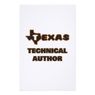 Texas Technical Author Stationery