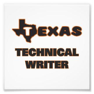 Texas Technical Writer Photo Print