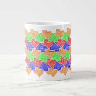 """Texas Tessellation - Dallas"" jumbo 20 oz mug"