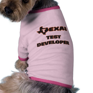 Texas Test Developer Pet Clothing