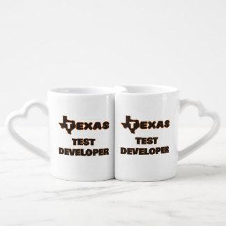 Texas Test Developer Couples' Coffee Mug Set