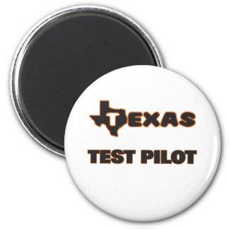 Texas Test Pilot 2 Inch Round Magnet