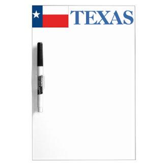 TEXAS-Texas Flag Dry Erase Board