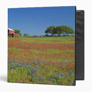 Texas, Texas Hill Country, Texas paintbrush Vinyl Binder