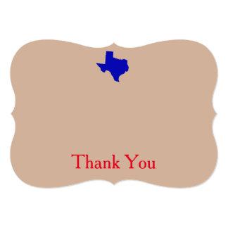 Texas Thank You Cards