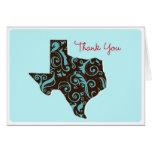 Texas Thank You Greeting Card