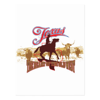 Texas - The Heart of the West Postcard
