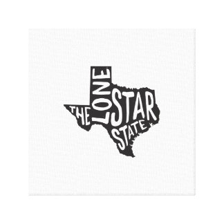 Texas: The Lone Star State Canvas Print
