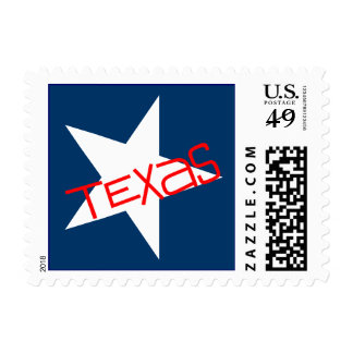 Texas The Lone Star State Flag Stationery Stamps