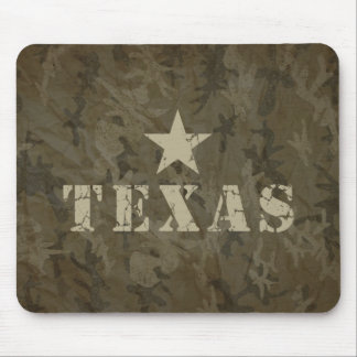Texas, the Lone Star State Mousepad