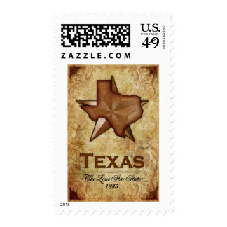 Texas- The Lone Star State Postage