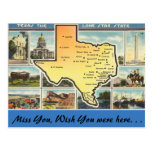 Texas, The Lone Star State Postcards