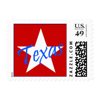 Texas The Lone Star State RW&B Stationery Stamps