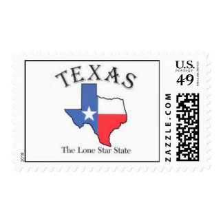 Texas The Lone Star State Stamp