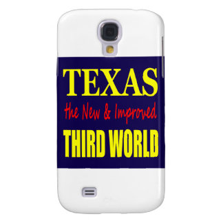 Texas the New & Improved THIRD WORLD Galaxy S4 Case