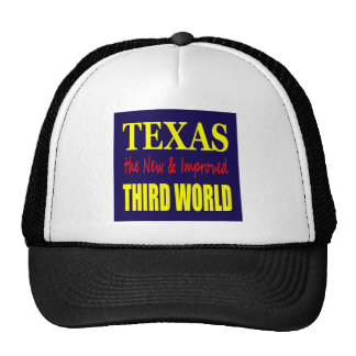 Texas the New & Improved THIRD WORLD Mesh Hats
