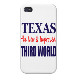 Texas the New & Improved THIRD WORLD iPhone 4 Cases
