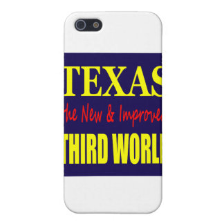 Texas the New & Improved THIRD WORLD iPhone SE/5/5s Cover
