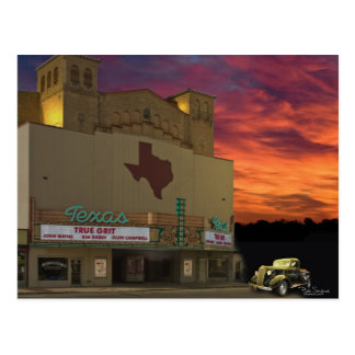 Texas Theater - San Angelo, Texas Postcard