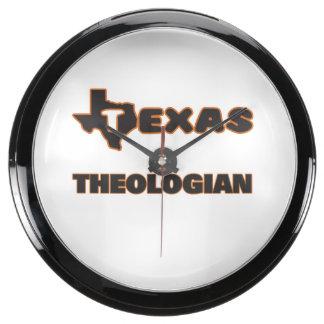 Texas Theologian Aqua Clock