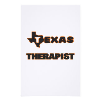 Texas Therapist Stationery