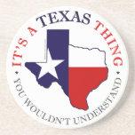 Texas Thing Beverage Coaster