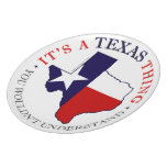 Texas Thing Dinner Plate