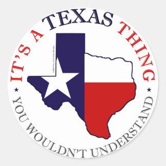 Texas Thing Sticker