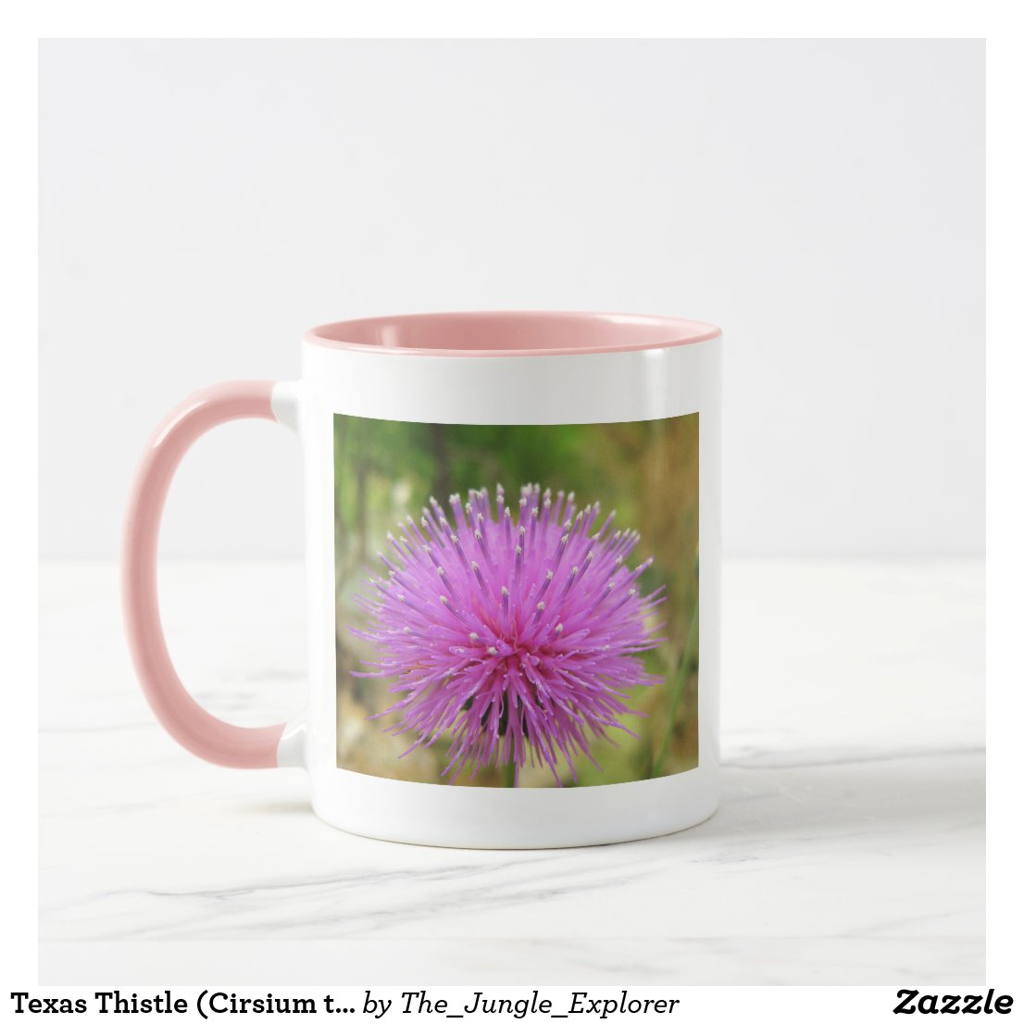 Texas Thistle (Cirsium texanum) Mug
