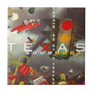 Texas Tornados Tile